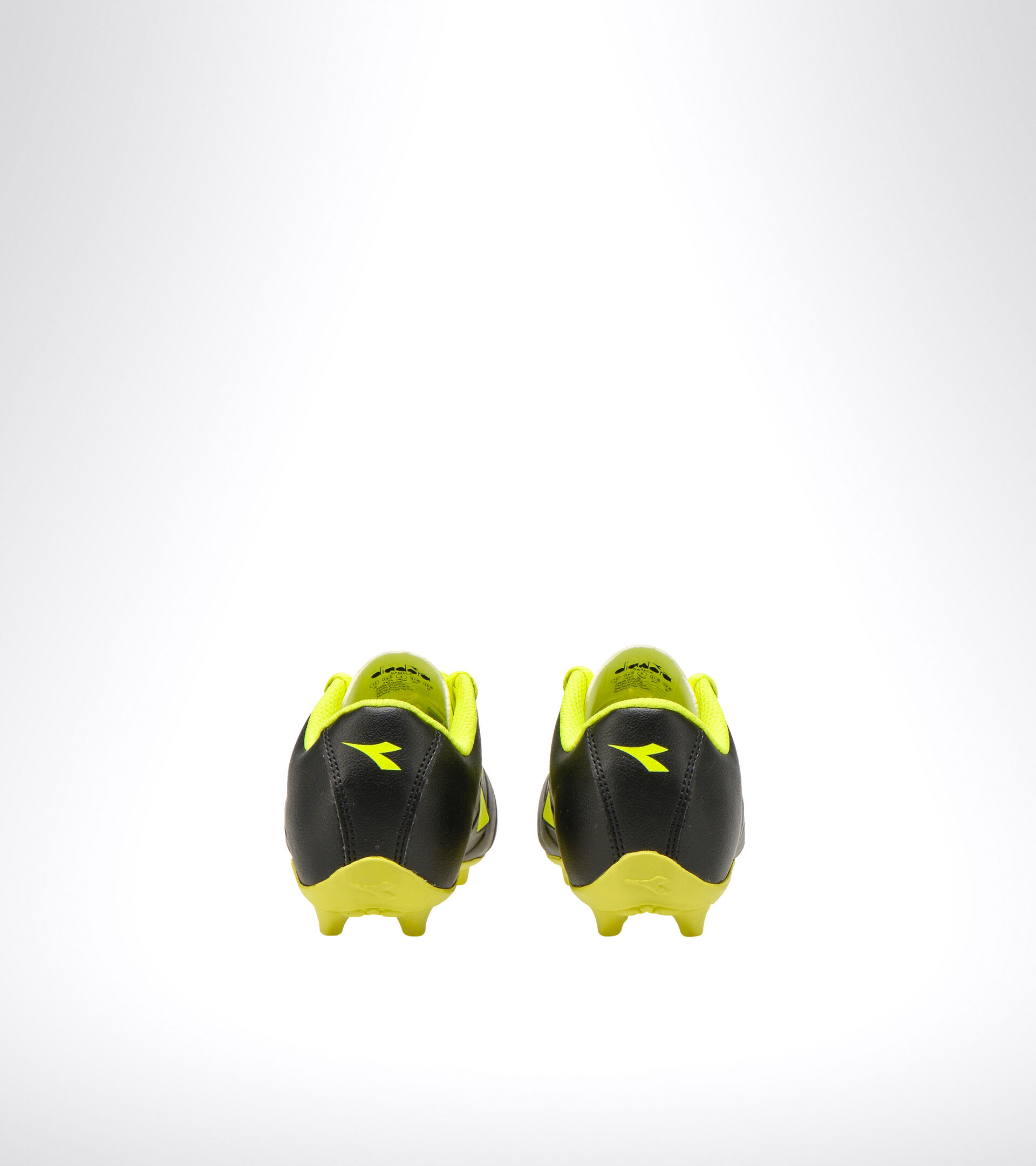 Footwear Sport BAMBINO PICHICHI 3 MD JR BLACK/FLUO YELLOW DIADORA Diadora