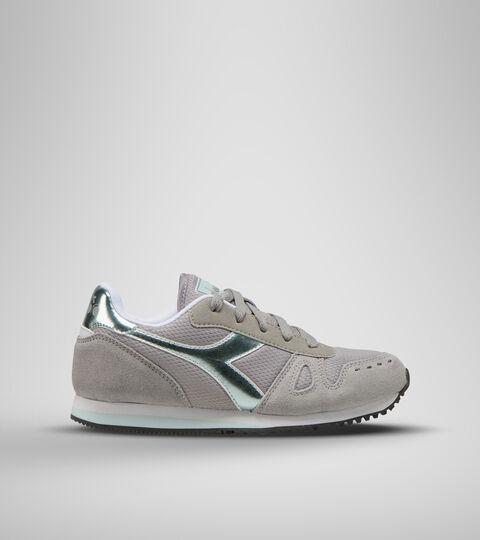 Footwear Sport BAMBINO SIMPLE RUN GS GIRL GRIS PALOMA Diadora