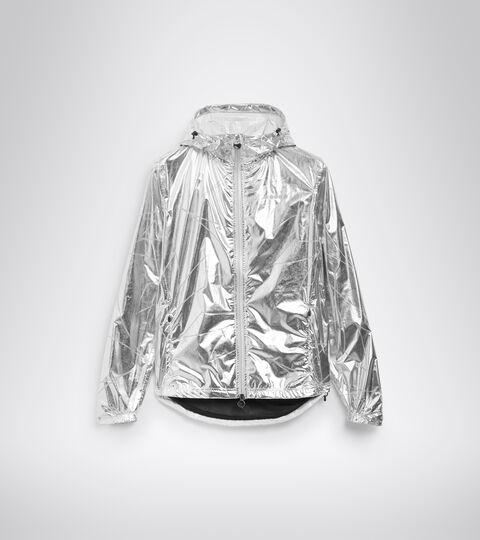 Chaqueta impermeable para correr - Mujer L. RAIN LOCK JACKET REFLEJO DE PLATA - Diadora