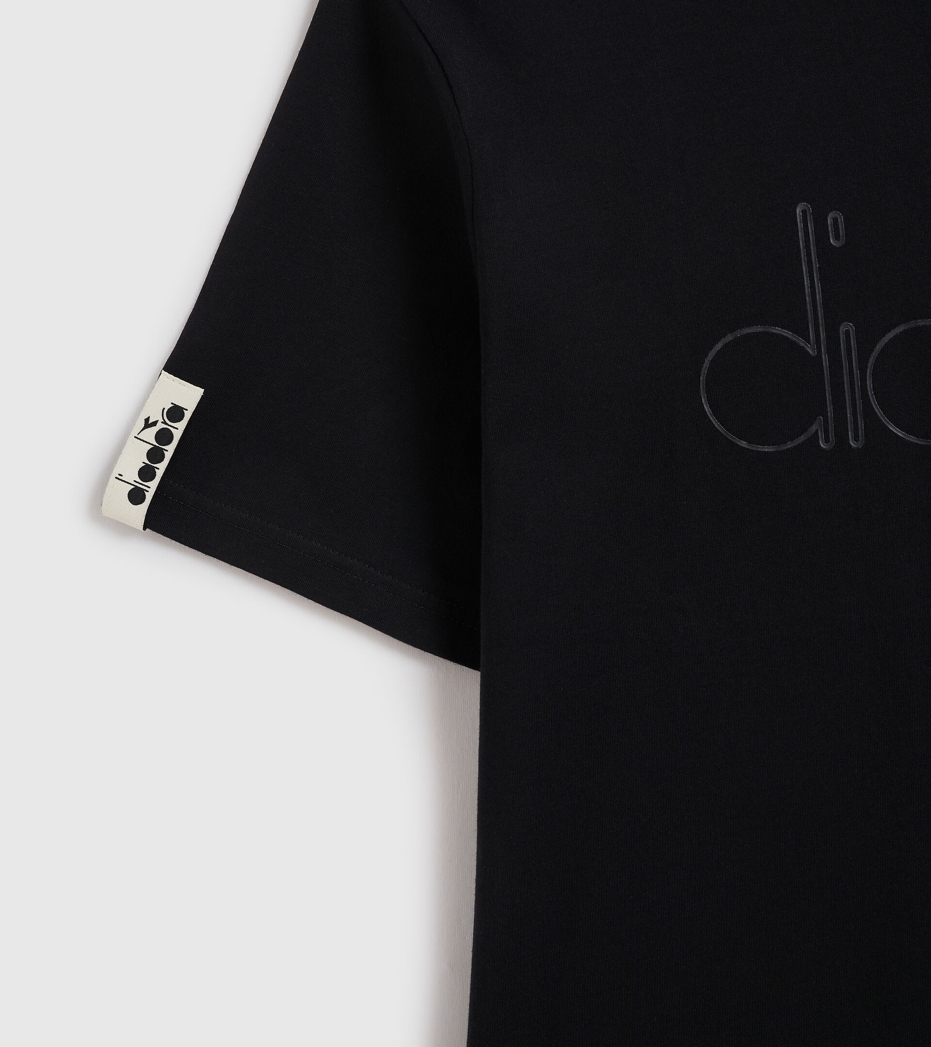 T-shirt - Unisex T-SHIRT SS DIADORA HD BLACK - Diadora