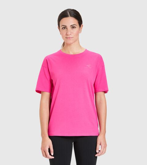 T-shirt - Femme L.T-SHIRT SS BLINK MAGENTA - Diadora