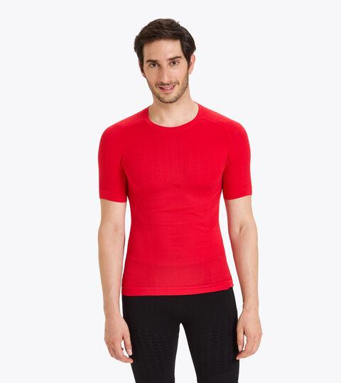 Short-sleeved training t-shirt - Men SS T-SHIRT ACT LYCHEE - Diadora