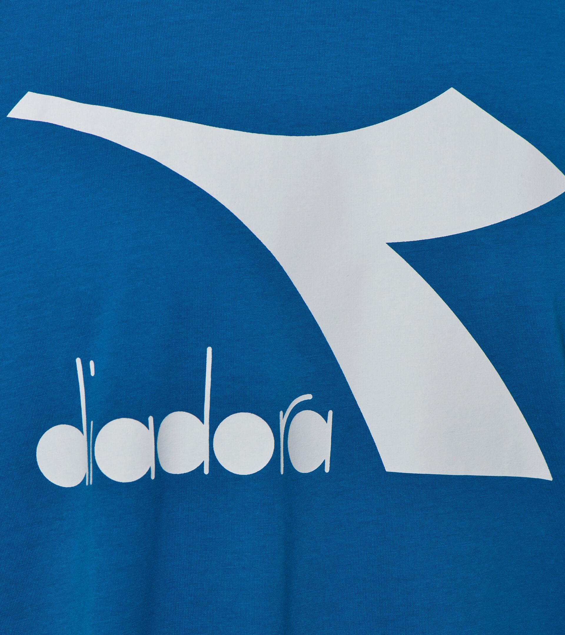 T-shirt - Herren T-SHIRT SS BIG LOGO MYKONOS BLAU - Diadora