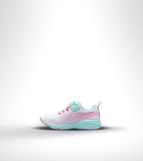 Running shoe - Kids FLAMINGO 6 JR WHITE/BLUE TINT - Diadora