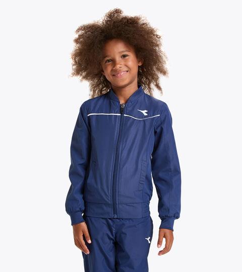 Tennis jacket - Junior G. JACKET COURT SALTIRE NAVY - Diadora