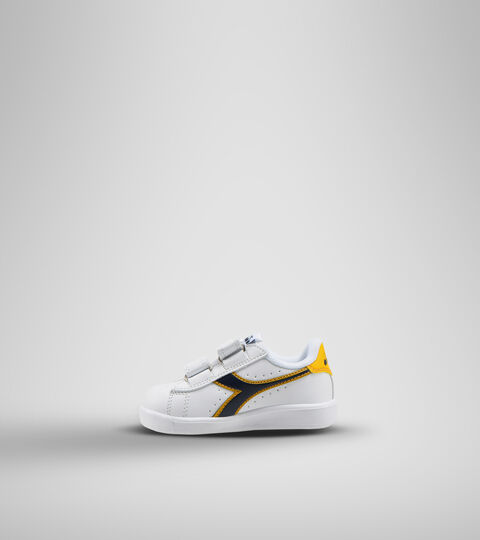 Sports shoes - Toddlers 1-4 years GAME P TD WHITE/BLACK IRIS/GOLD FUSION - Diadora