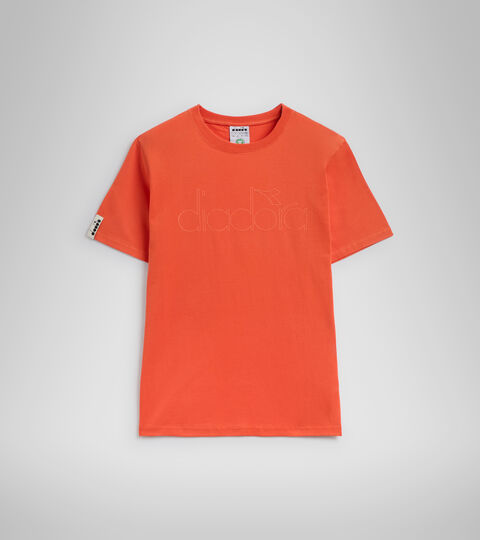 T-shirt - Unisex T-SHIRT SS DIADORA HD RED TIGERLILY - Diadora