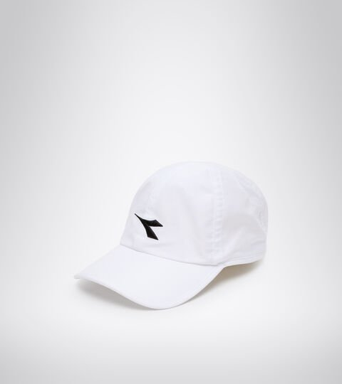 Tenniskappe - Unisex ADJUSTABLE CAP WEISS/SCHWARZ - Diadora