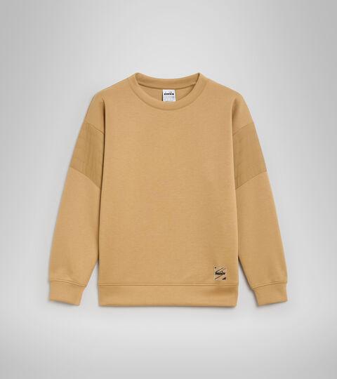 Crew-neck sweatshirt - Women L. SWEATSHIRT CREW URBANITY STARFISH - Diadora