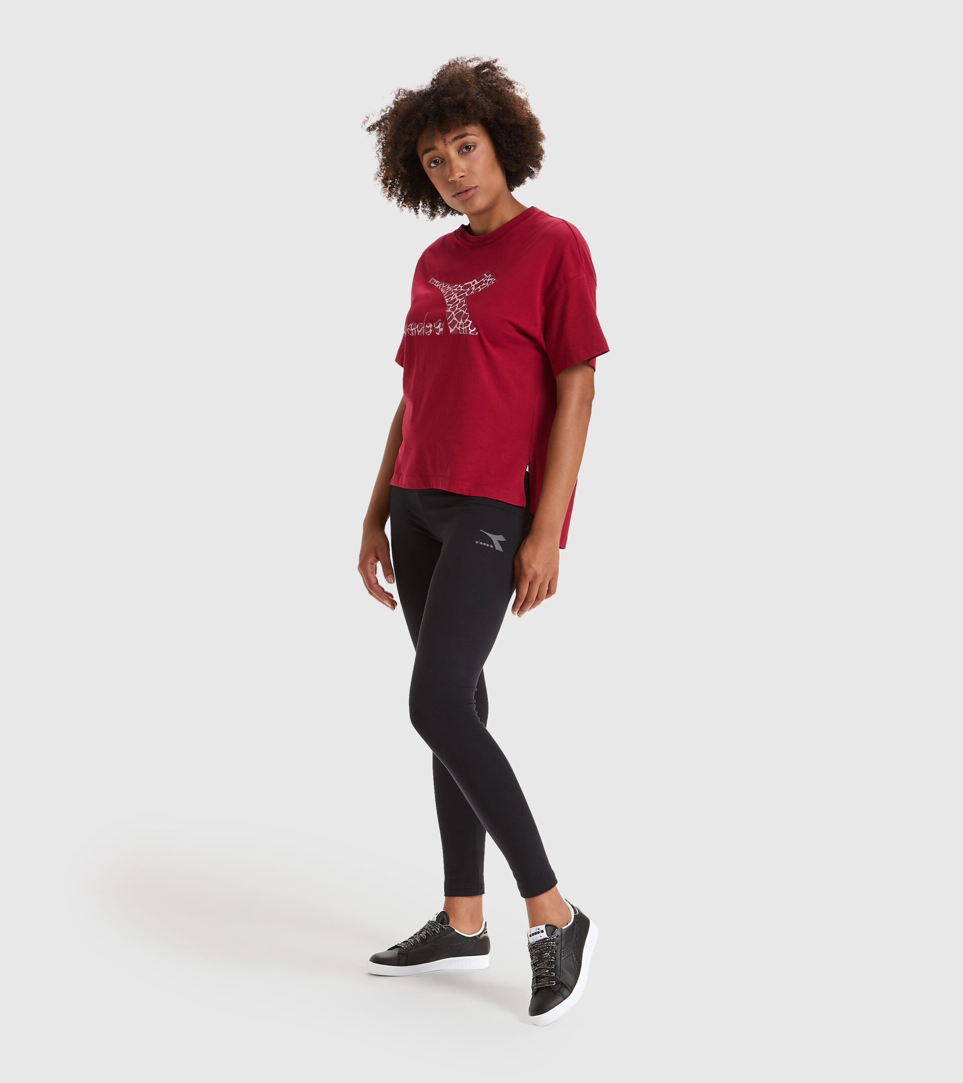 Camiseta - Mujer L.T-SHIRT SS LUSH RUIBARBO - Diadora