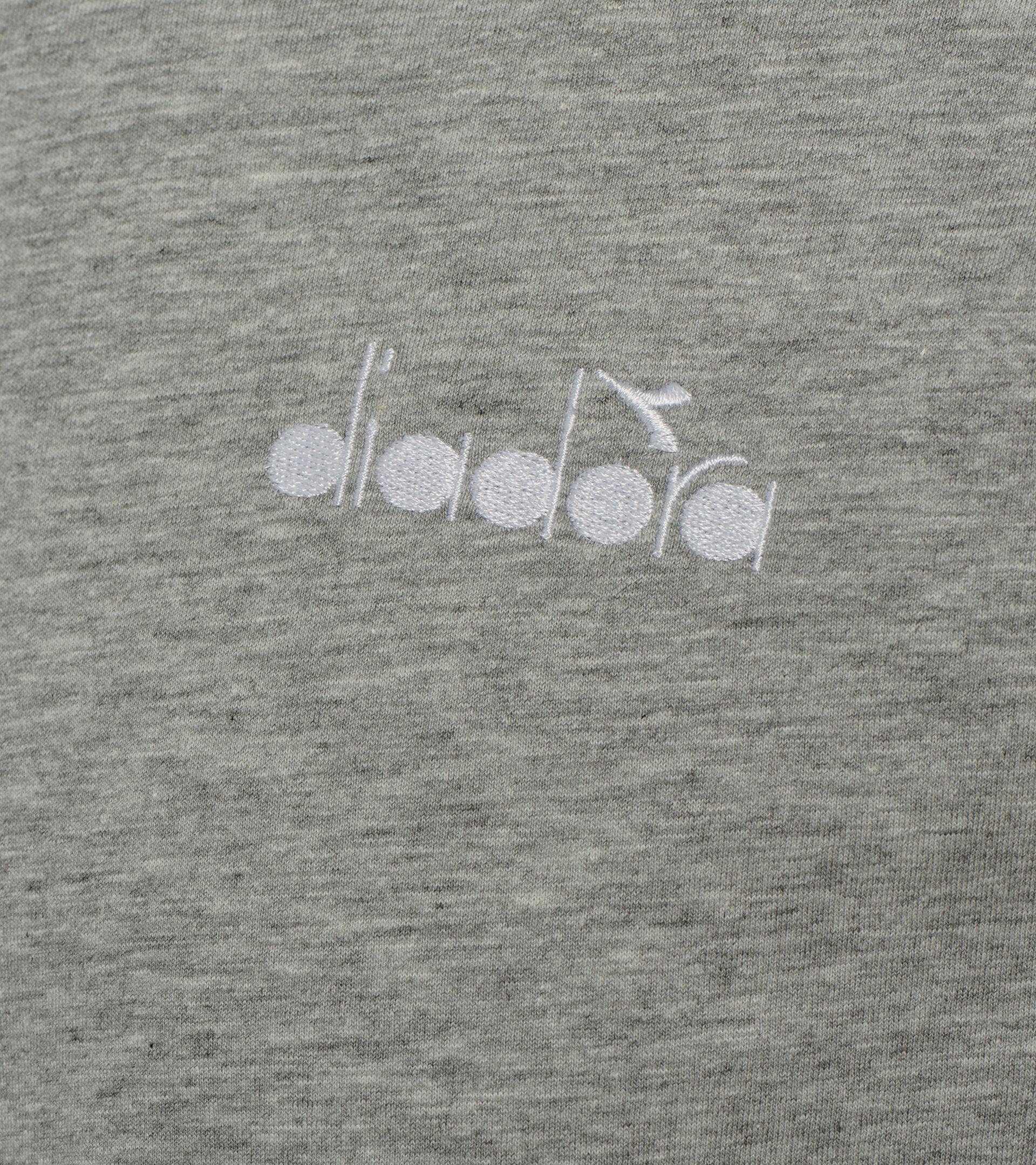 Apparel Sport UOMO SS T-SHIRT CORE OC LIGHT MIDDLE GREY MELANGE Diadora