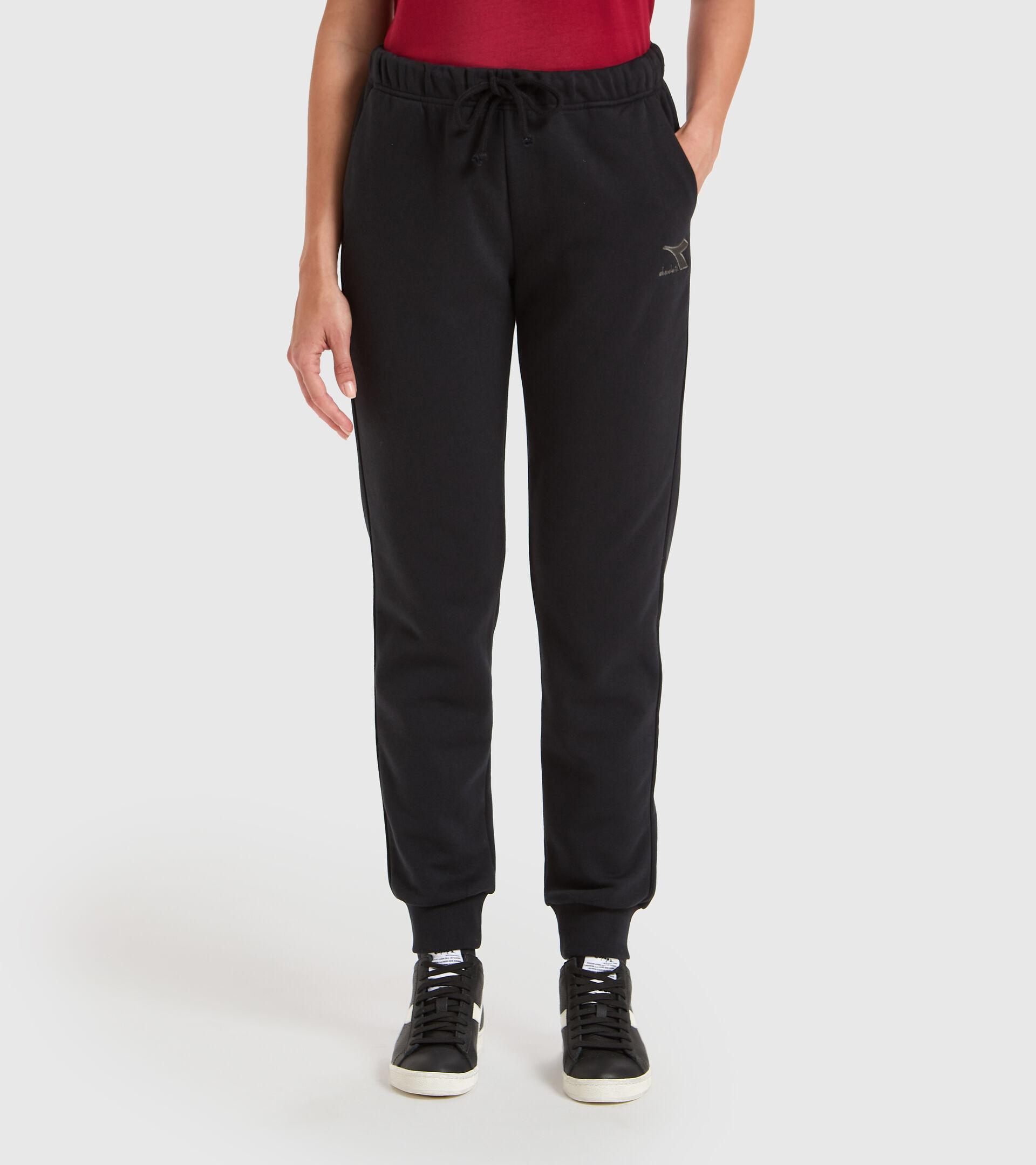 Pantalones deportivos - Mujer L.PANTS CUFF CORE NEGRO - Diadora