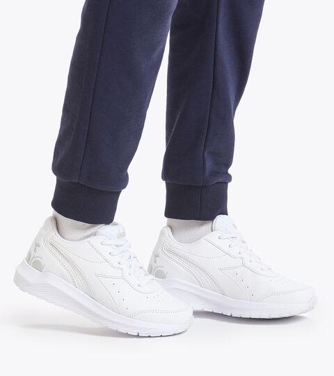 Chaussures de running - Unisexe Enfant FALCON SL JR BLANC/BLANC/BLANC - Diadora