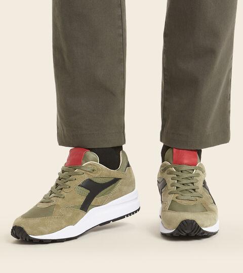 Heritage-Schuh Made in Italy - Herren ECLIPSE ITALIA GRUN OLIVE VERBRANNT - Diadora