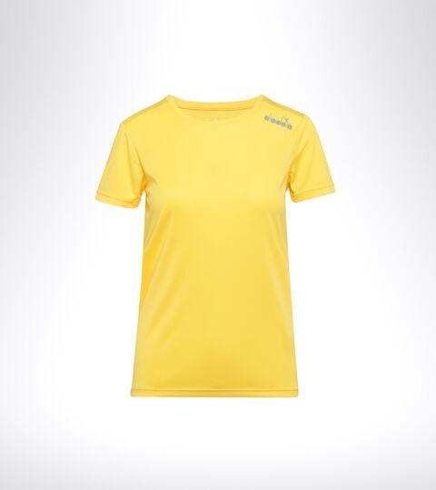 Camiseta para correr - Mujer L. SS CORE TEE JILGUERO YANQUI - Diadora