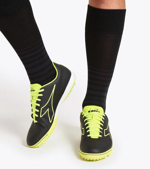 Footwear Sport UOMO PICHICHI 4 TFR NOIR/JAUNE FLUO DIA Diadora