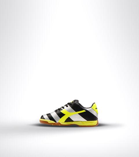 Footwear Sport BAMBINO RAPTOR R ID JR NERO/ARGENTO/GIALLO FL DD Diadora