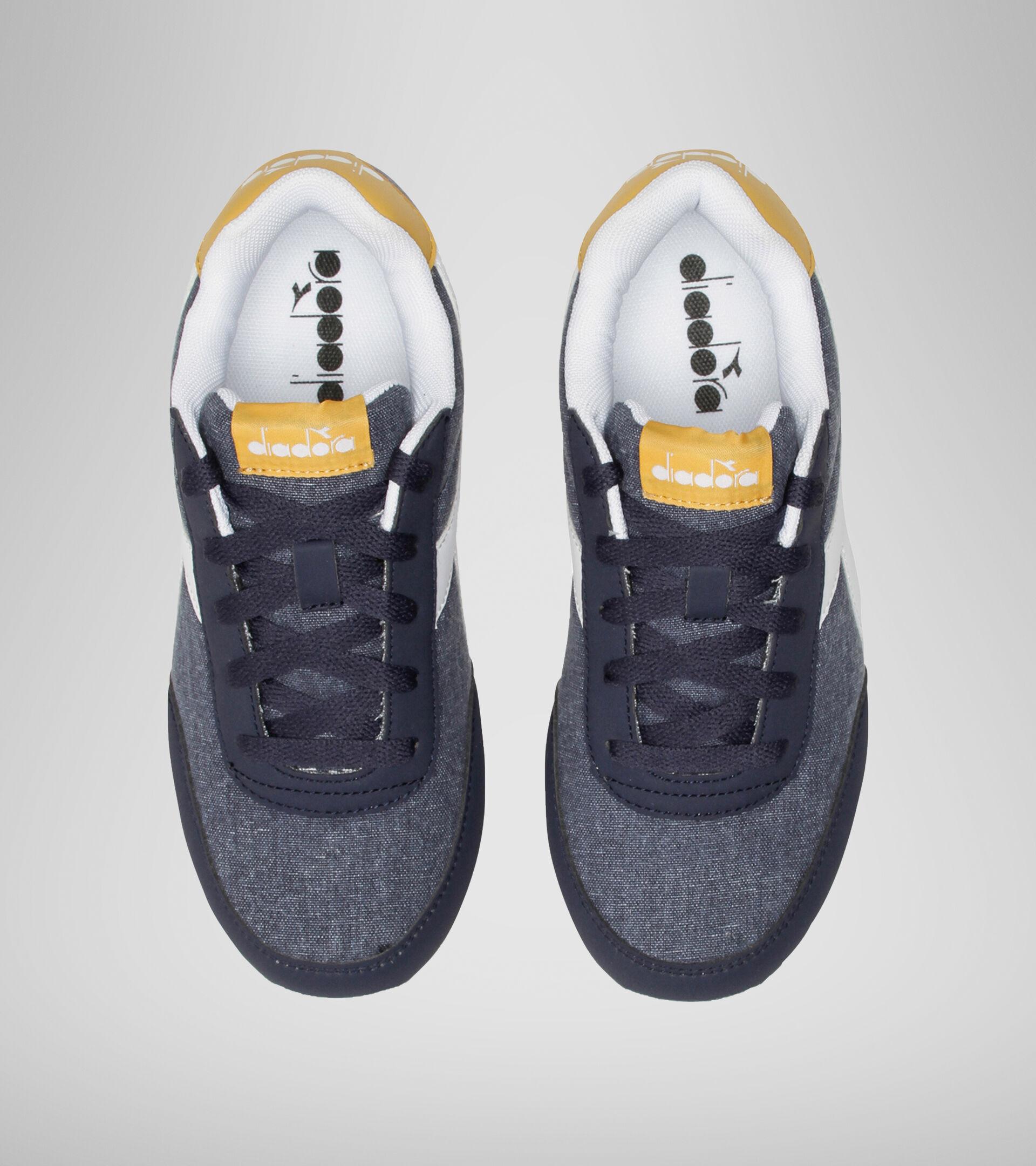 Chaussures de sport - Jeunes 8-16 ans JOG LIGHT GS NOIR IRIS/ABRICOT DORE - Diadora