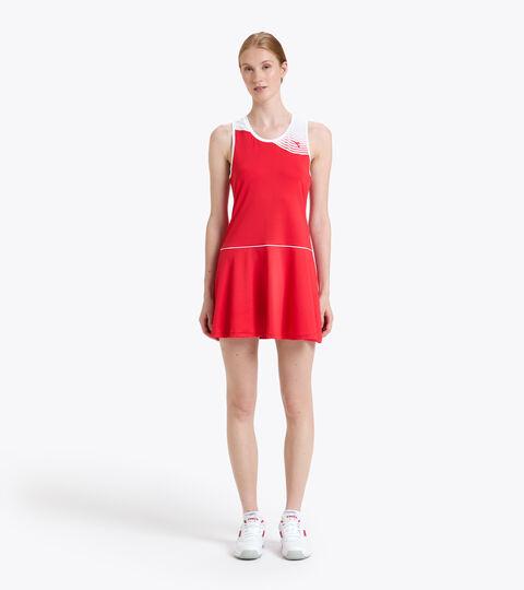 Vestido de tenis - Mujer L. DRESS COURT ROJO TOMATE - Diadora