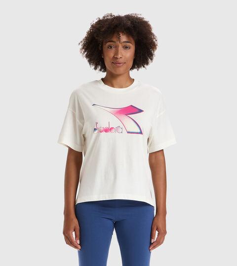 T-Shirt - Damen L.T-SHIRT SS LUSH WISPERN WEISS - Diadora