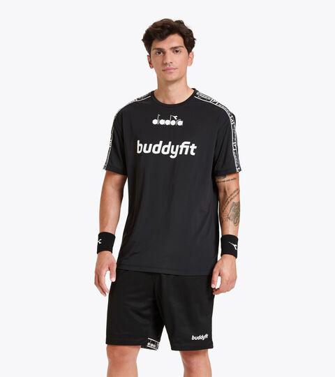 Workout-T-Shirt for men SS T-SHIRT BUDDYFIT BLACK - Diadora