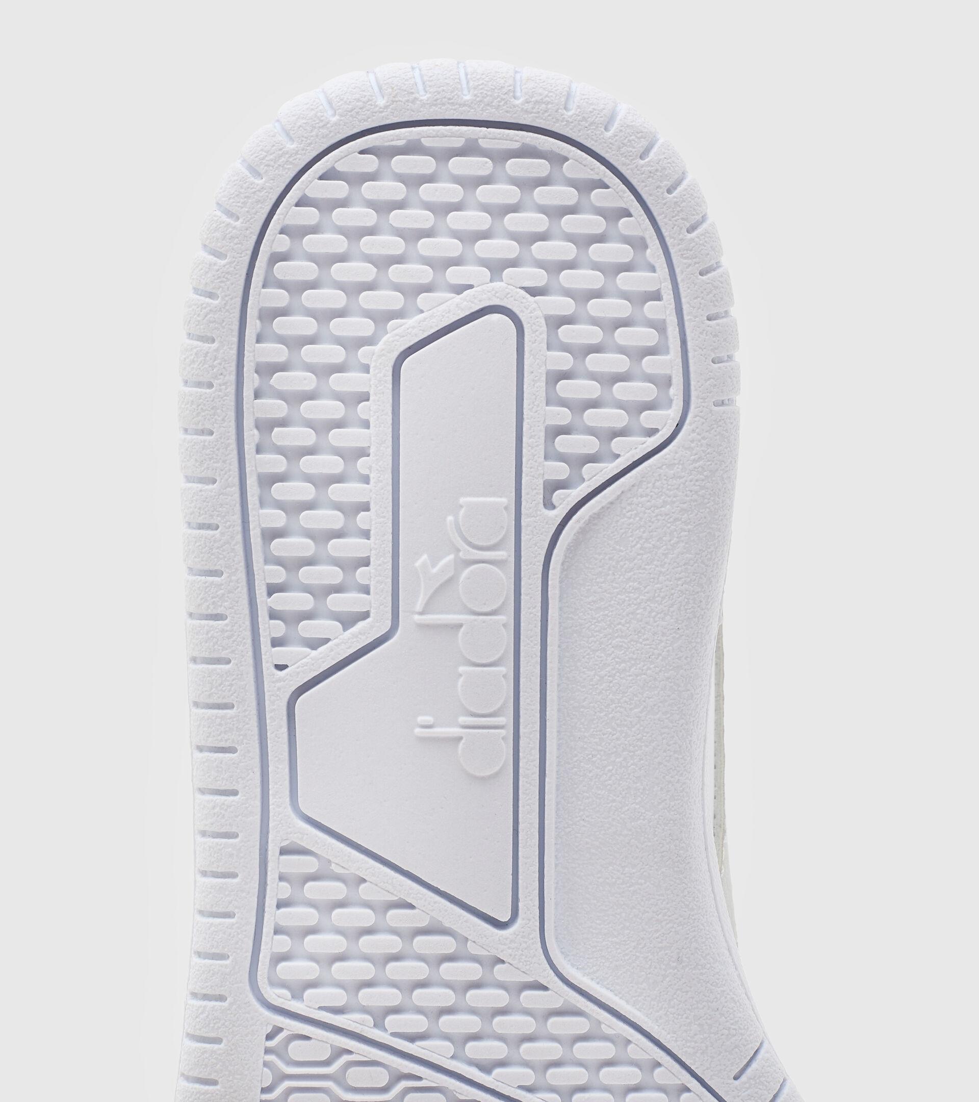 Footwear Sport BAMBINO RAPTOR LOW GS BLANCO/PLATA (C6103) Diadora