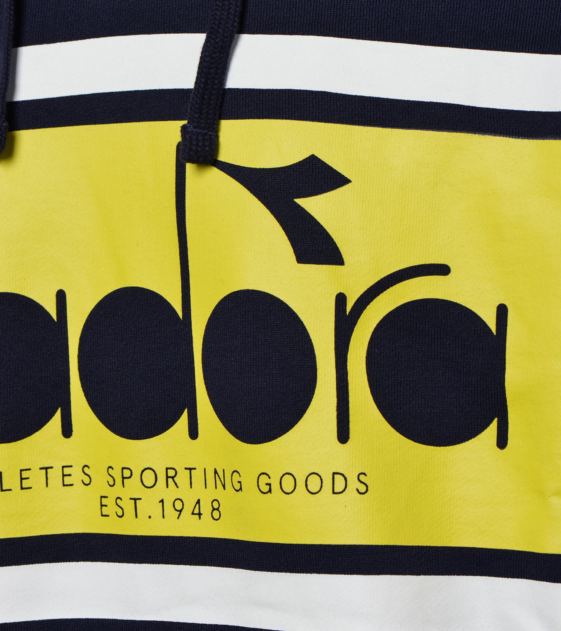 Apparel Sportswear UOMO HOODIE SPECTRA CLASSIC NAVY Diadora