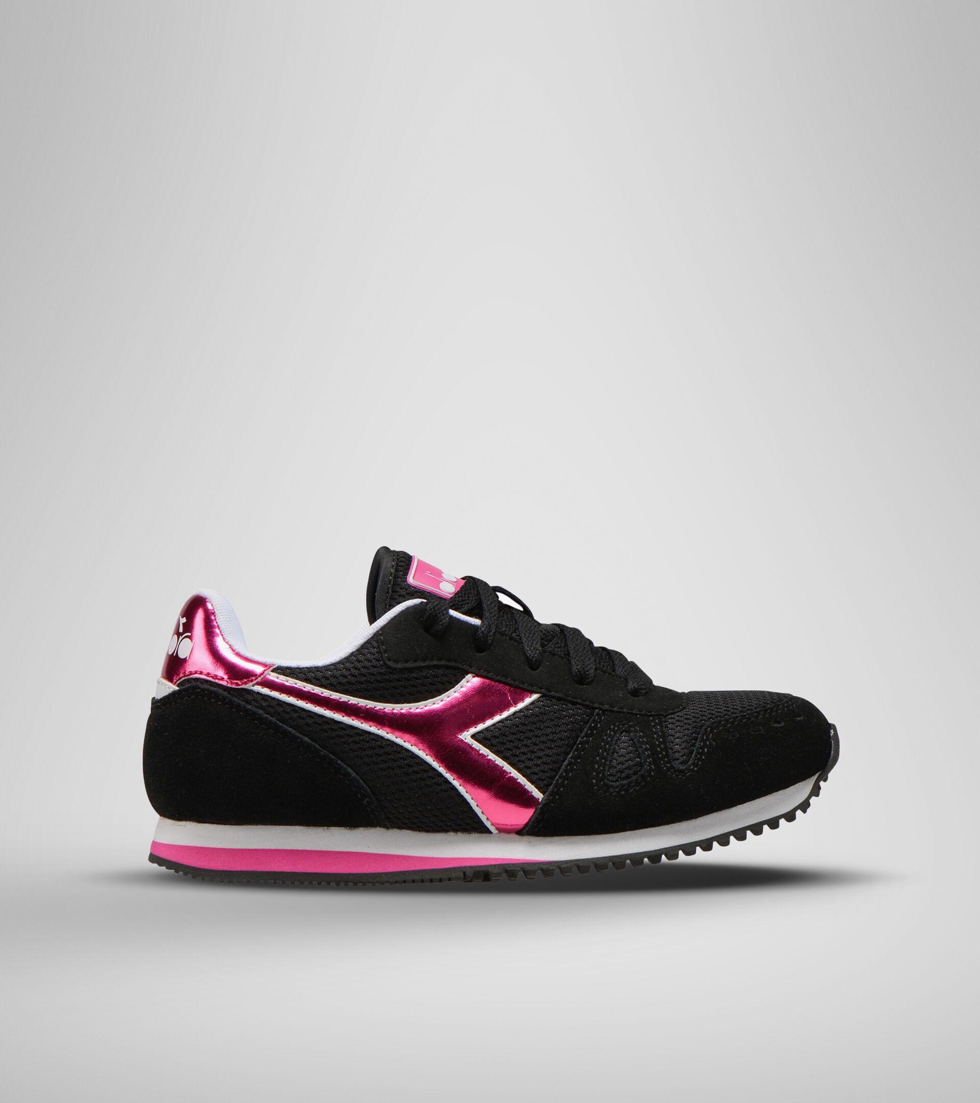 Footwear Sport BAMBINO SIMPLE RUN GS GIRL NERO Diadora