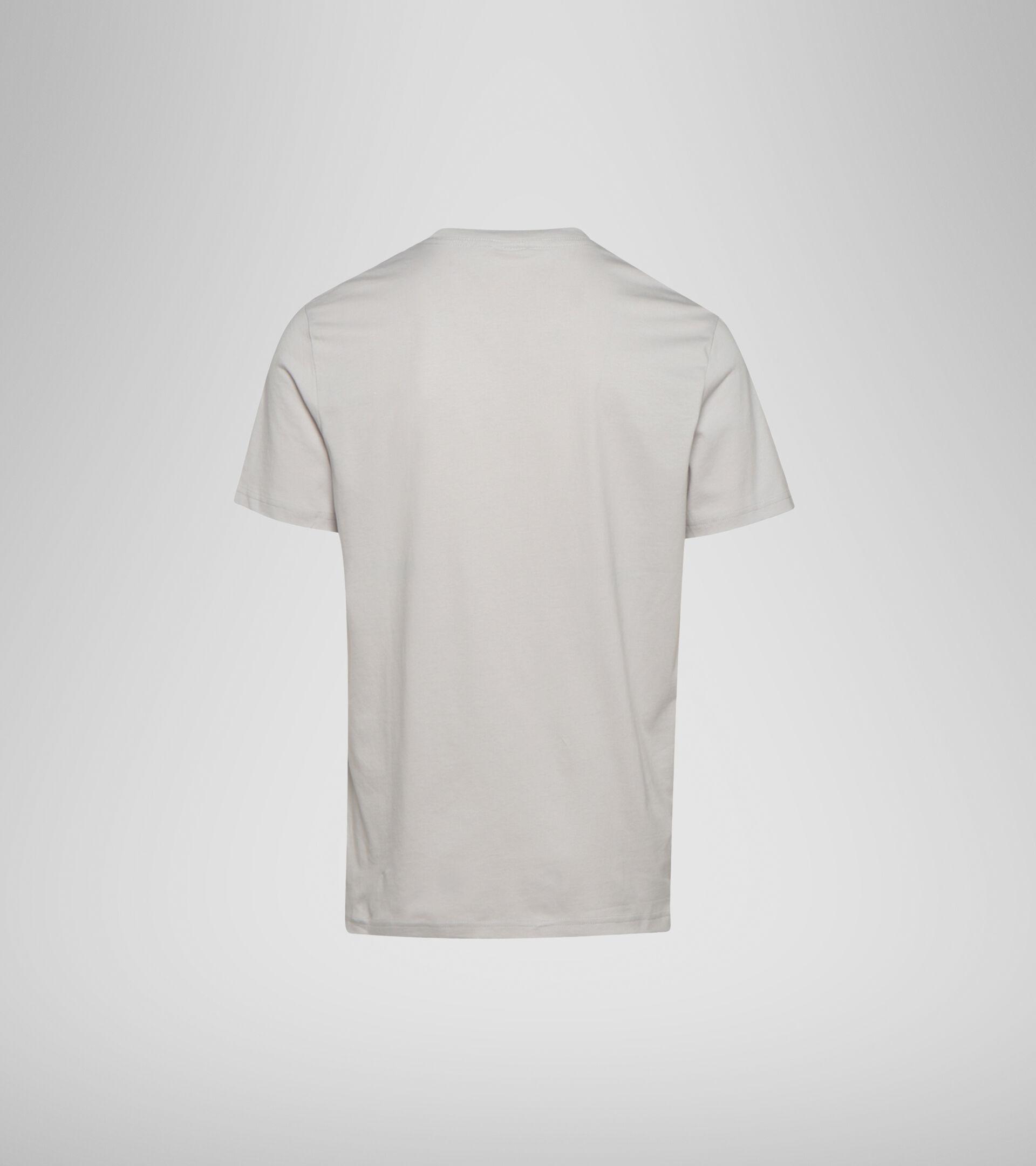 Apparel Sportswear UOMO SS T-SHIRT SPECTRA OC OYSTER MUSHROOM Diadora