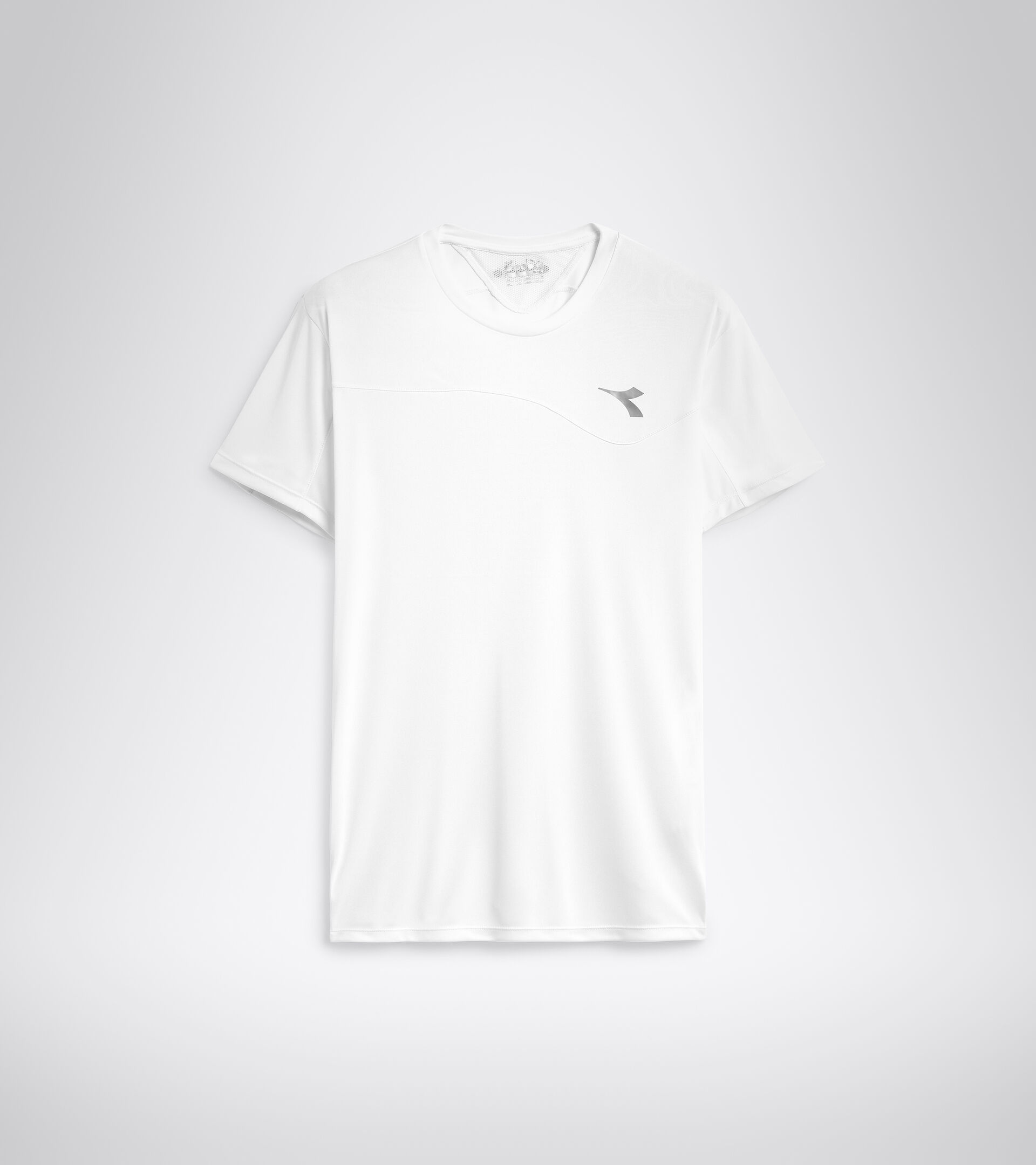 Tennis-T-Shirt - Herren T-SHIRT TEAM STRAHLEND WEISSE - Diadora