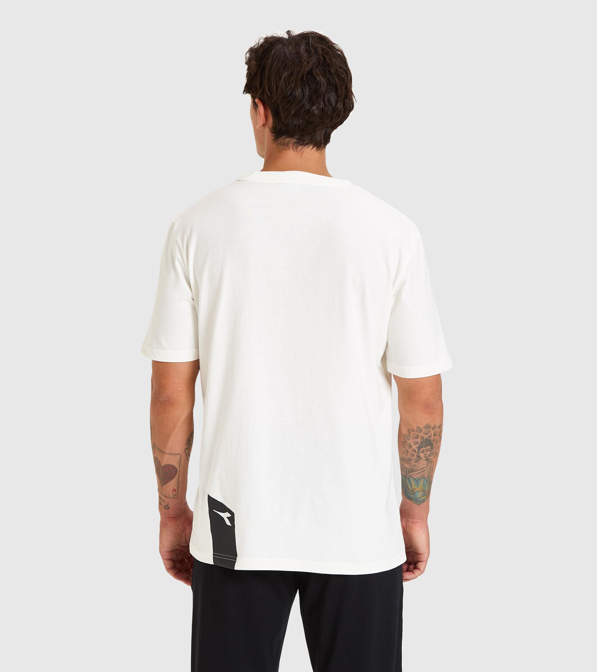 T-shirt - Unisex T-SHIRT SS ICON MARSHMALLOW WEISS - Diadora