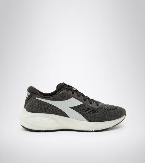 Running shoes - Men FRECCIA BLACK/STEEL GRAY/WHITE - Diadora