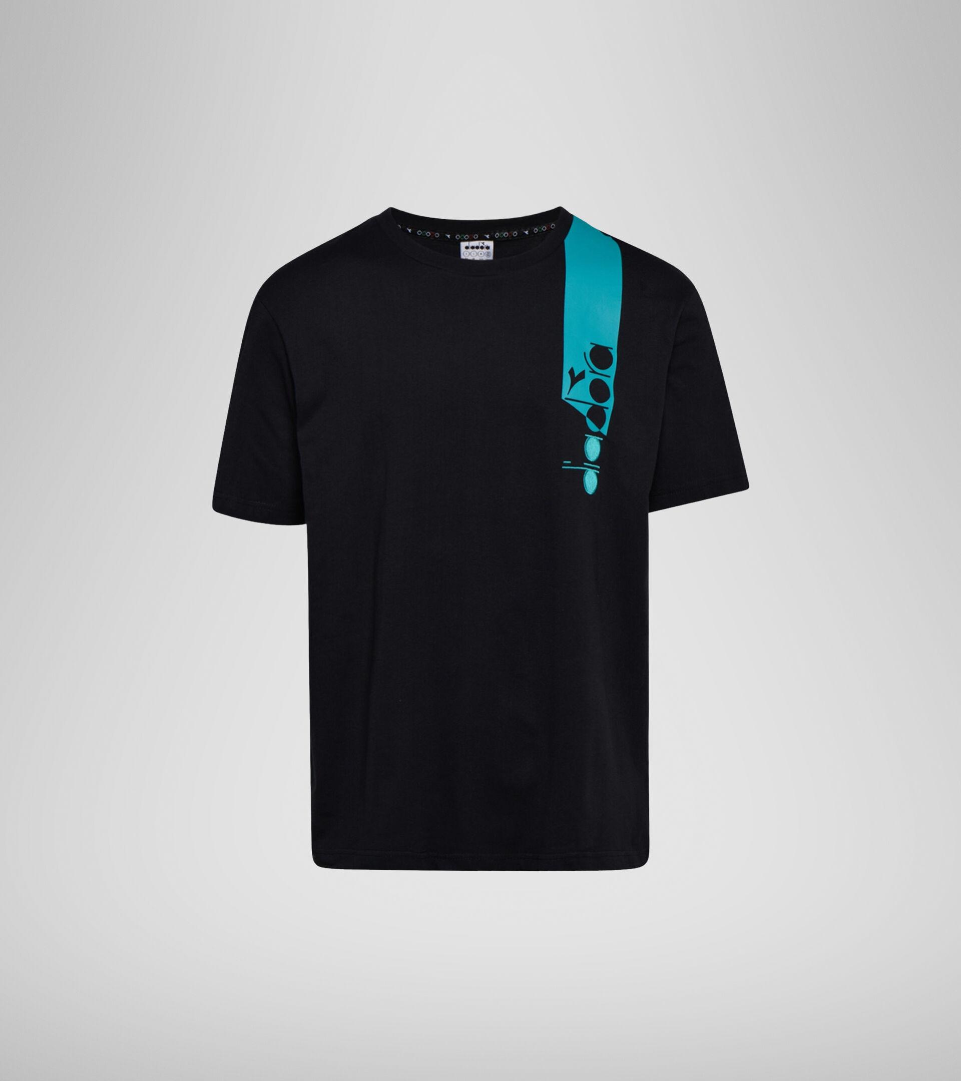 Apparel Sportswear UOMO T-SHIRT SS ICON BLACK Diadora