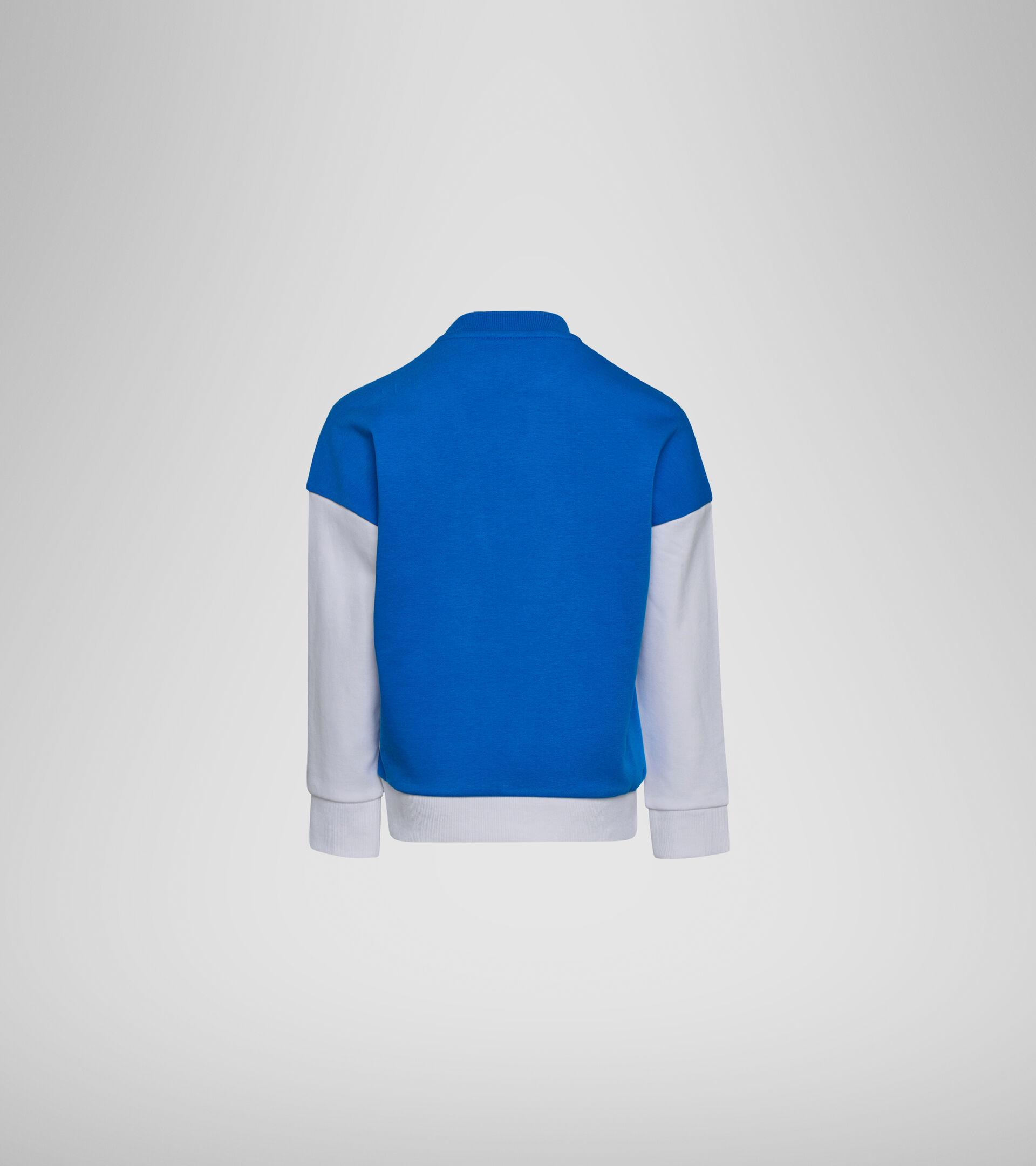 Apparel Sport BAMBINO JB.SWEATSHIRT CREW DIADORA CLUB OPTICAL WHITE Diadora