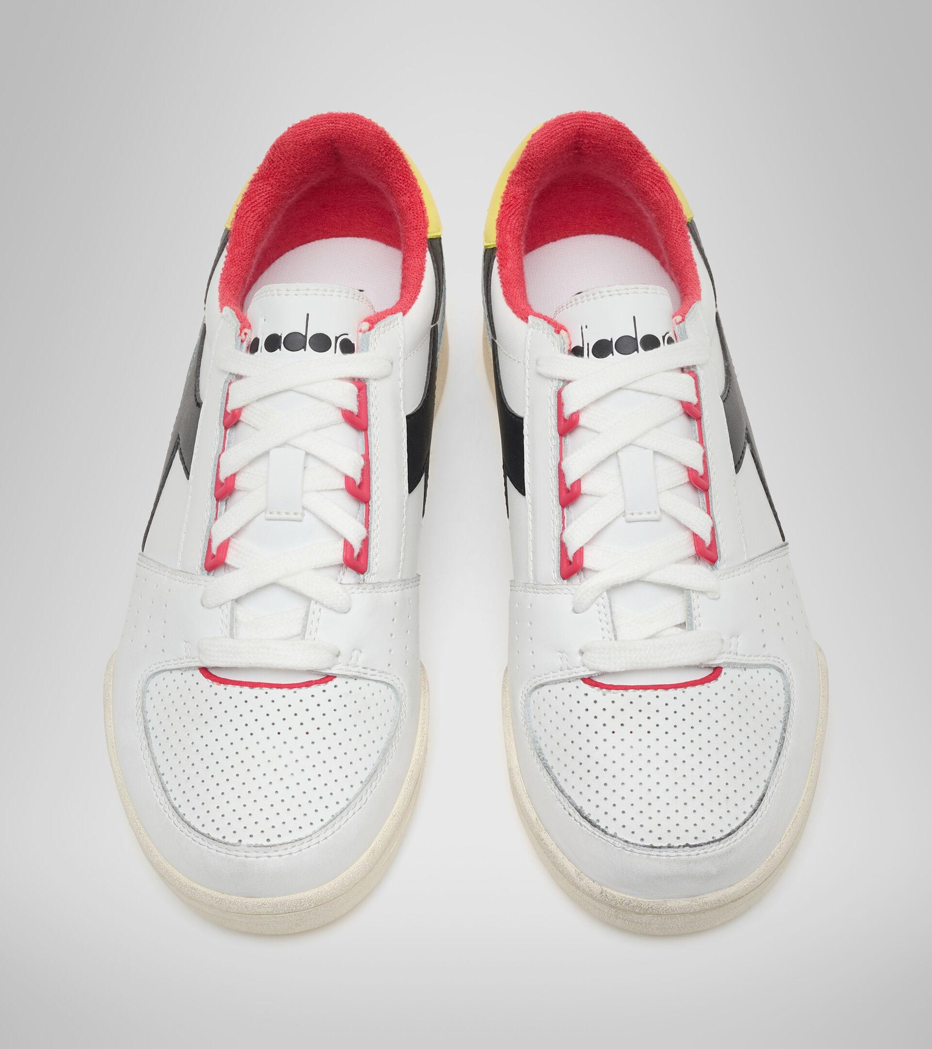 Footwear Sportswear UOMO DAVIS LEATHER BLANCO/NEGRO/LIMA CLARO Diadora
