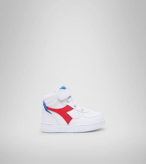 Chaussures de sport - Bambins 1-4 ans RAPTOR MID TD BIANCO/TOMATO RED - Diadora