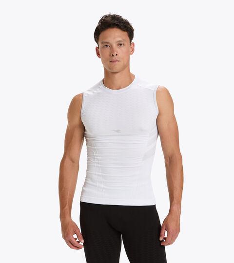 Running tank top - Men SL T-SHIRT ACT OPTICAL WHITE - Diadora
