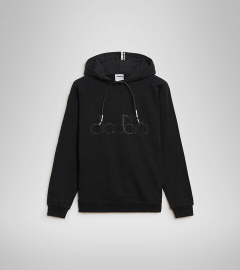 Hooded sweatshirt - Unisex HOODIE DIADORA HD BLACK - Diadora