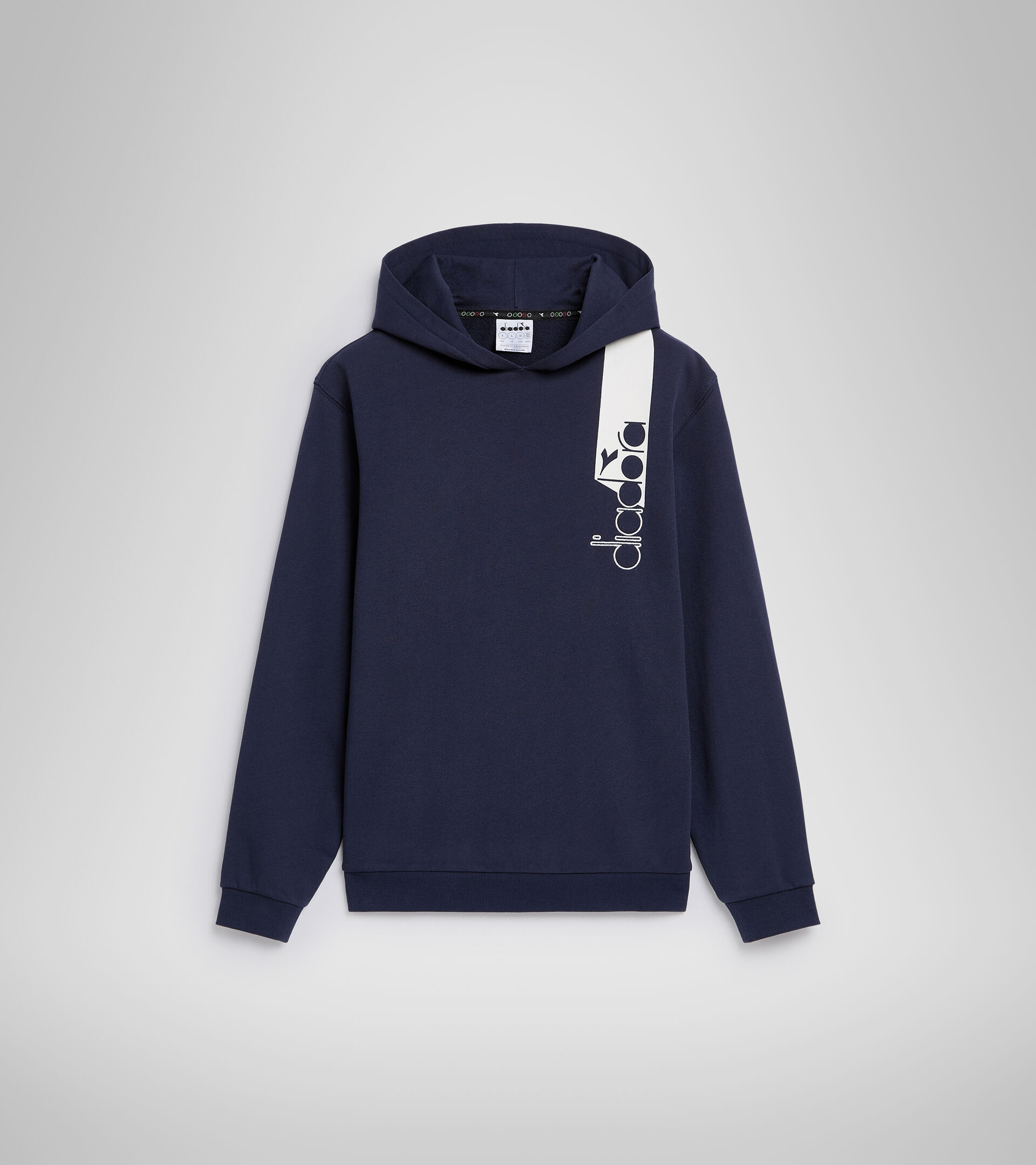 Apparel Sportswear UOMO HOODIE ICON CLASSIC NAVY Diadora