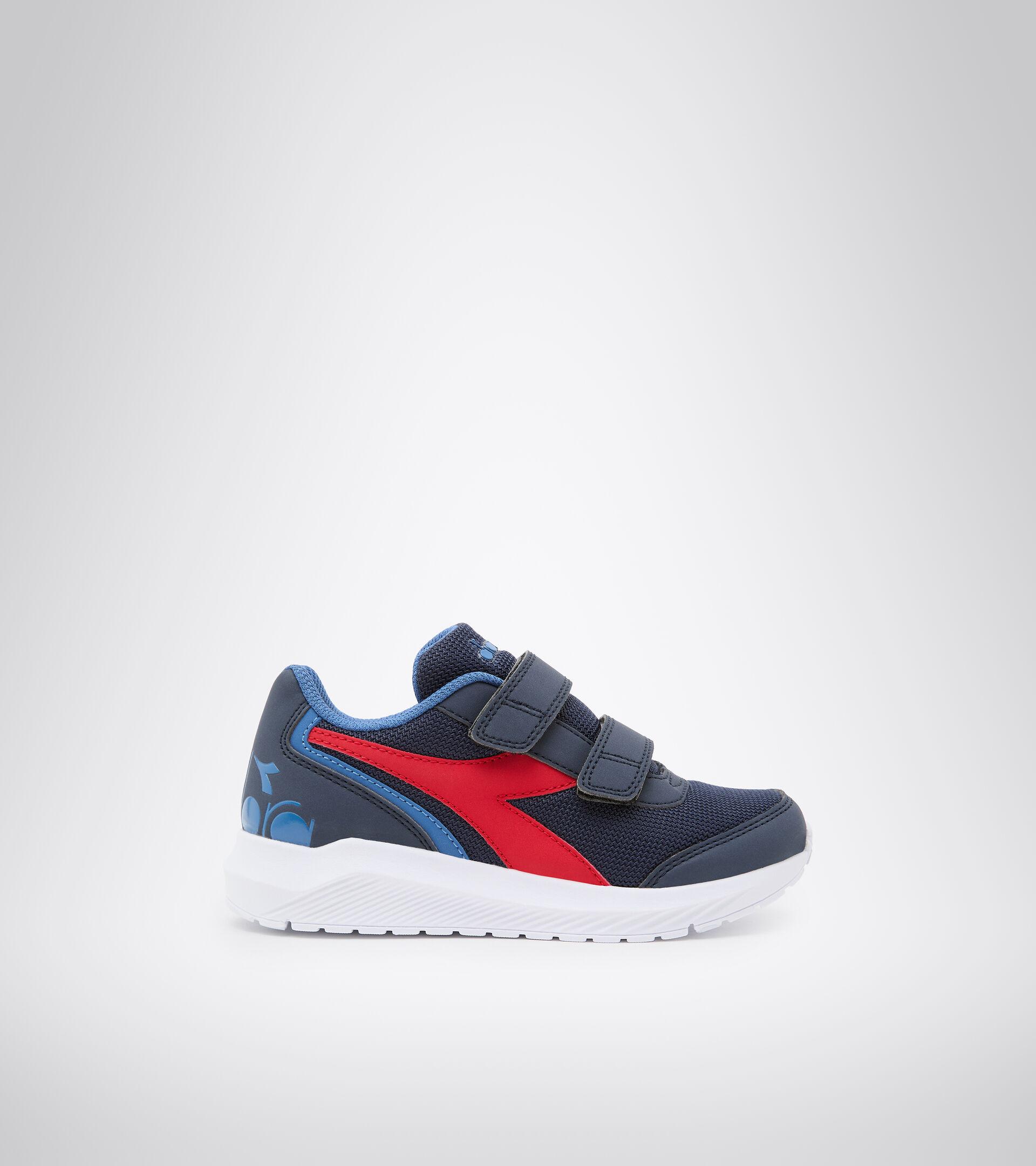 Running shoe - Kids FALCON JR V BLACK/BEGONIA PINK - Diadora