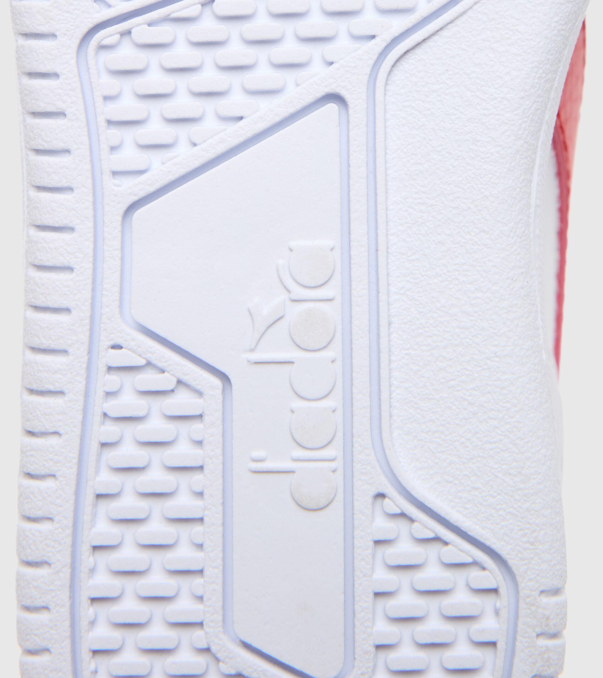 Footwear Sport BAMBINO RAPTOR LOW PS WHITE/TOMATO RED Diadora