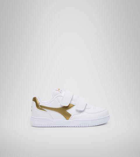 Footwear Sport BAMBINO RAPTOR LOW PS WHITE/GOLD Diadora