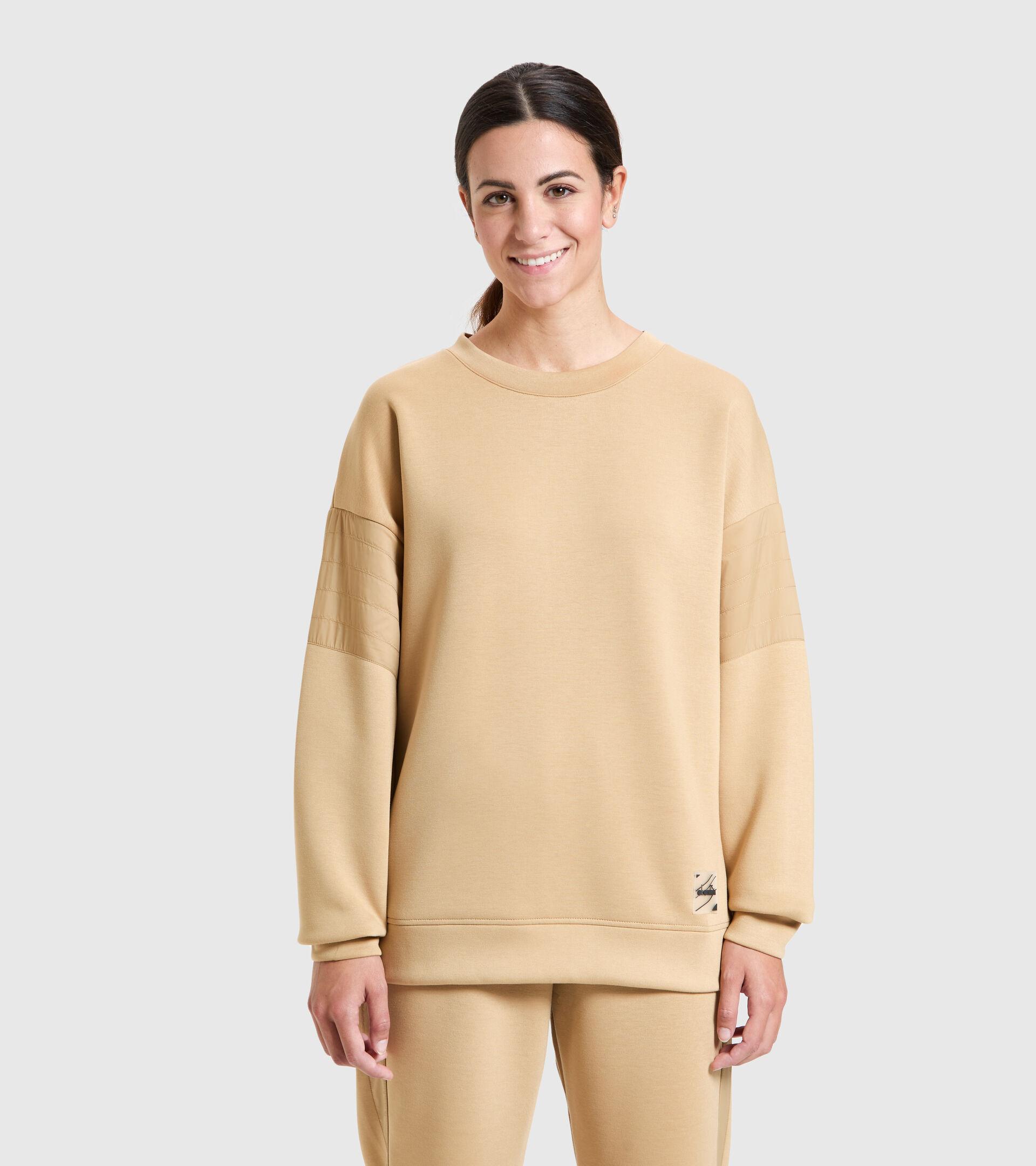 Sweater mit Rundhalsausschnitt - Damen L. SWEATSHIRT CREW URBANITY SEESTERN - Diadora