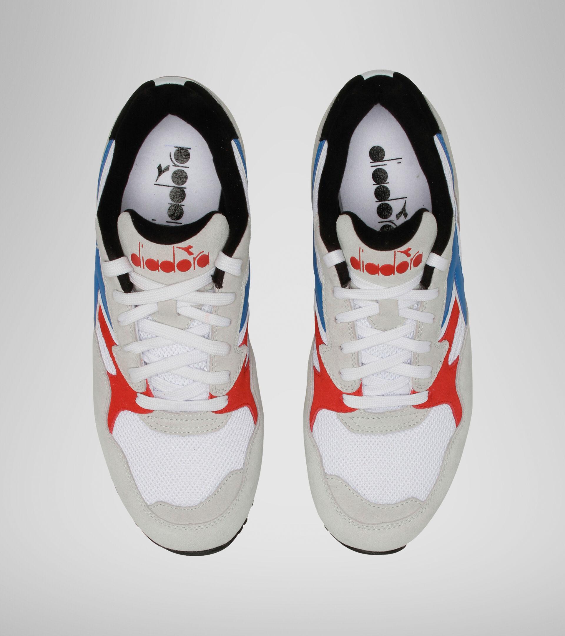 Footwear Sportswear UNISEX N902 S BLCO/AZL LUMINOSO/ROJO INTENSO Diadora