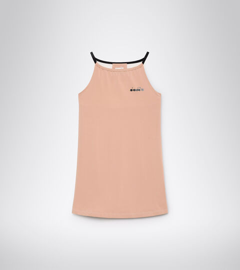 Vestido de tenis - Mujer L. DRESS CLAY ROSA CAOBA/BLANCO MURMURAR - Diadora