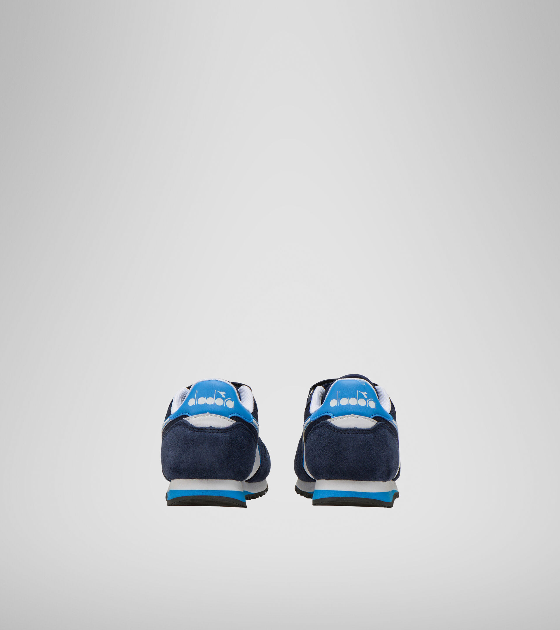 Footwear Sport BAMBINO SIMPLE RUN PS CORSAIR/SKY-BLUE BLITHE Diadora