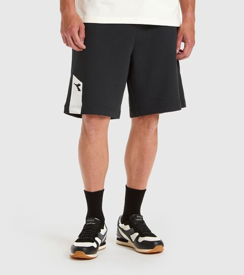 Sportswear bermuda - Unisex BERMUDA ICON BLACK - Diadora