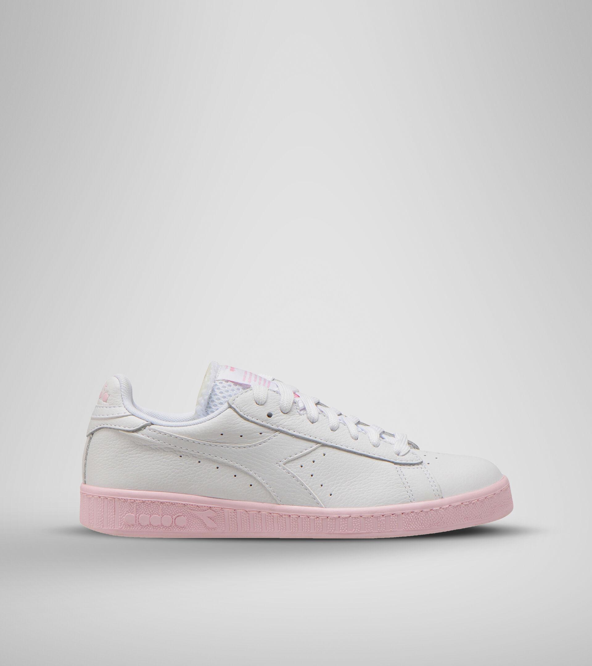 Footwear Sportswear DONNA GAME L LOW SOLE BLOCK WN BIANCO OTTICO/ROSA PARFAIT Diadora