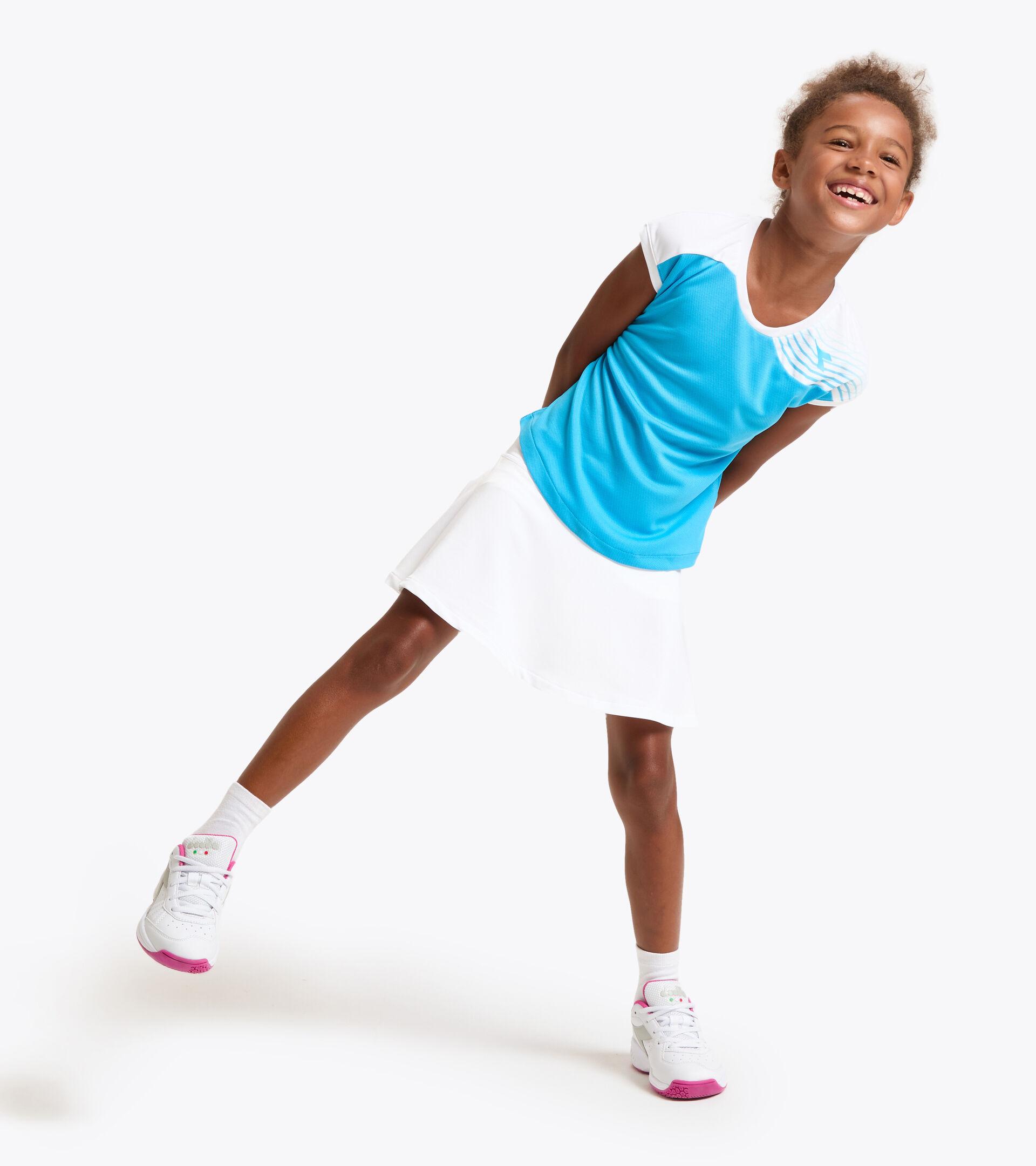 Tennis T-shirt - Junior G. T-SHIRT COURT ROYAL FLUO - Diadora