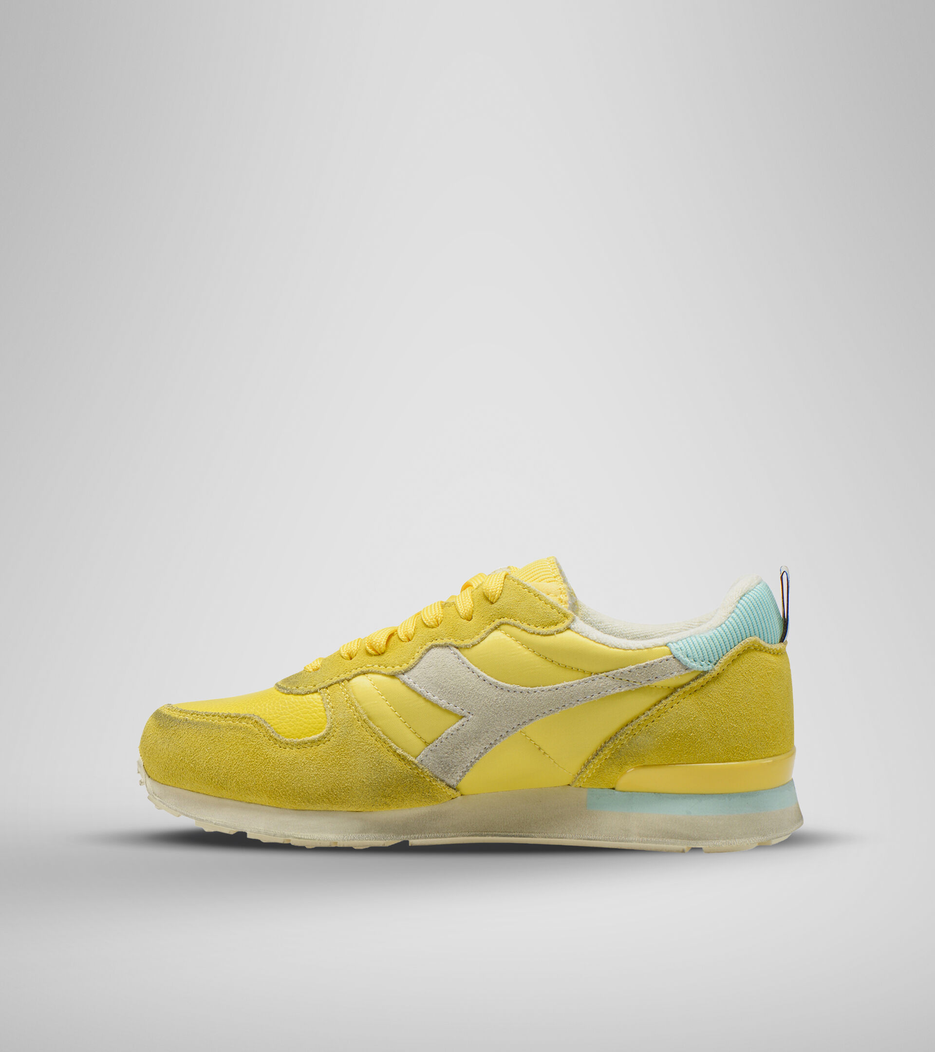 Footwear Sportswear DONNA CAMARO ICONA WN GIALLO CARDELLINO/AZZURRO TINT Diadora